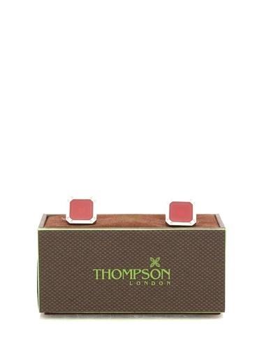 Thompson Kol Düğmesi Kırmızı